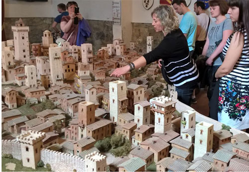 modello di San Gimignano