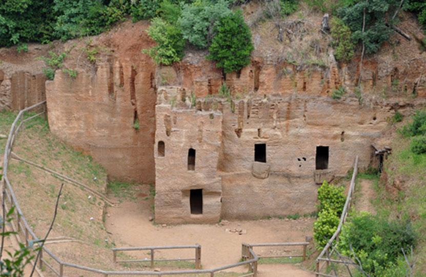insediamento etrusco di Populonia