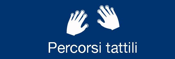 Vai alla pagina dei percorsi tattili per scoprire la Toscana
