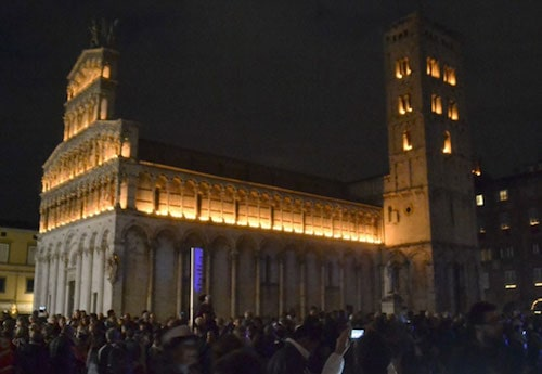 Luminara di Santa Croce nel Settembre Lucchese